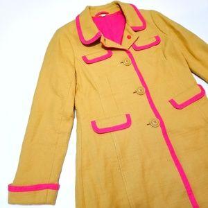 Boden Jackets & Coats - Boden Lena Coat Kate Middleton 60s Long Jacket